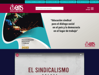 ens.org.co screenshot