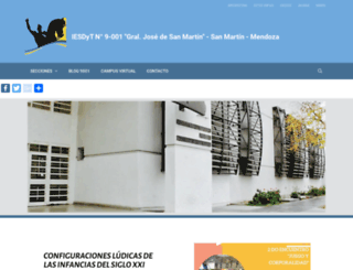 ens9001.mza.infd.edu.ar screenshot