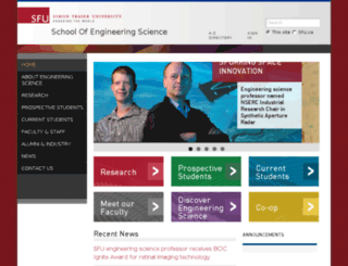 ensc.sfu.ca screenshot