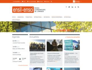 ensci.fr screenshot