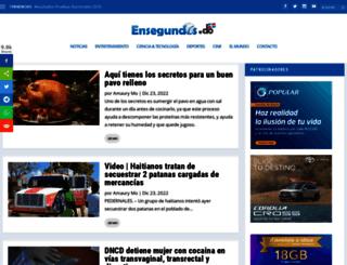ensegundos.net screenshot