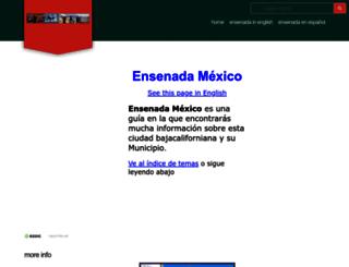 ensenada-baja-vacations.com screenshot
