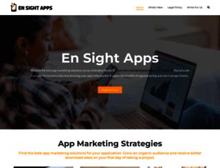 ensightapps.com screenshot