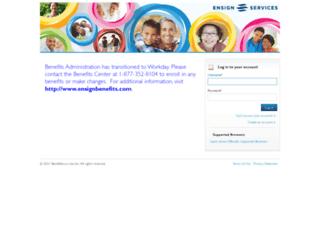 ensign.hrintouch.com screenshot