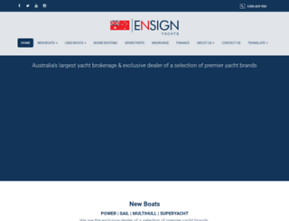 ensignbrokers.com.au screenshot