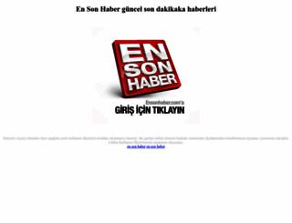 ensonhaber.com.tr screenshot