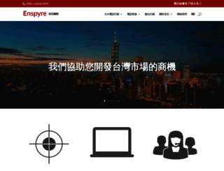 enspyre.com screenshot