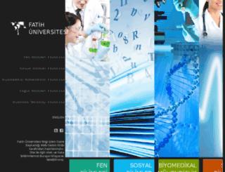 enstitu.fatih.edu.tr screenshot
