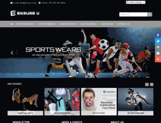 ensure-u.com screenshot