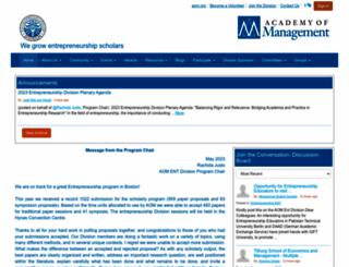 ent.aom.org screenshot