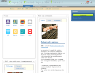 ent.univ-fcomte.fr screenshot