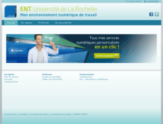 ent.univ-lr.fr screenshot