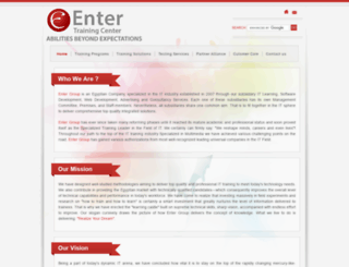 entergroup.org screenshot