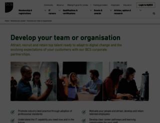 enterprise.bcs.org screenshot