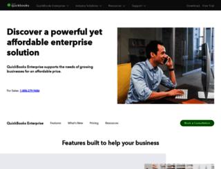 enterprise.intuit.ca screenshot