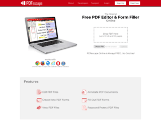 enterprise.pdfescape.com screenshot