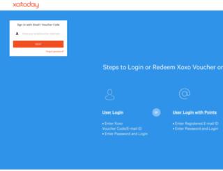 enterprise.xoxoday.com screenshot