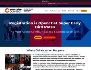 enterpriseconnect.com screenshot