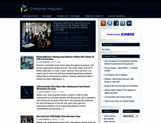enterpriseirregulars.com screenshot