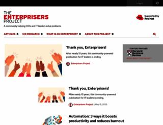 enterprisersproject.com screenshot