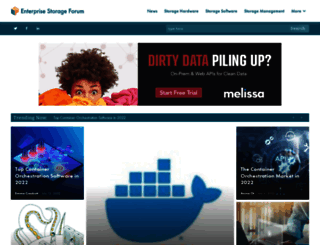 enterprisestorageforum.com screenshot