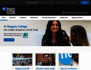 enterprisesystems.niagaracollege.ca screenshot