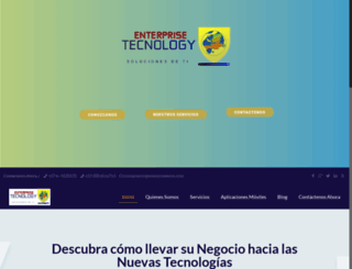enterprisetecno.com screenshot
