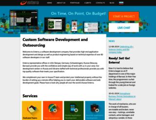 enterra-inc.com screenshot