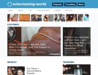 entertaining-world.com screenshot