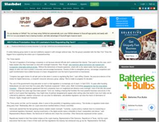 entertainment-beta.slashdot.org screenshot