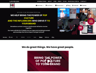 entertainmentbranded.com screenshot