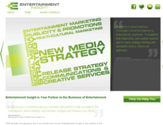 entertainmentinsight.com screenshot