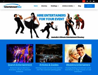 entertainmentnow.com.au screenshot