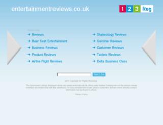 entertainmentreviews.co.uk screenshot