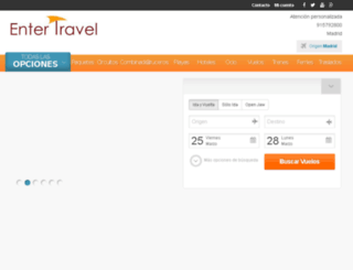 entertravel.traveltool.es screenshot
