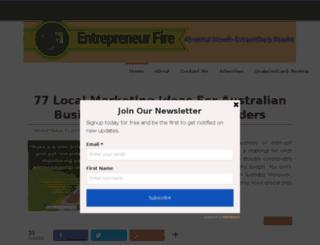 entfire.com screenshot