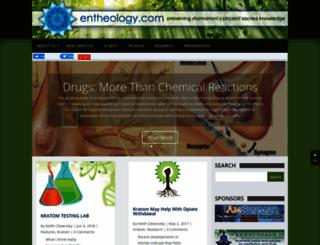 entheology.com screenshot