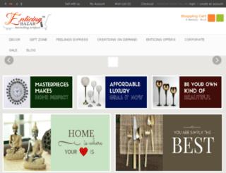 enticingbazar.com screenshot