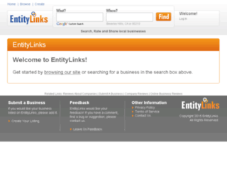 entitylinks.com screenshot
