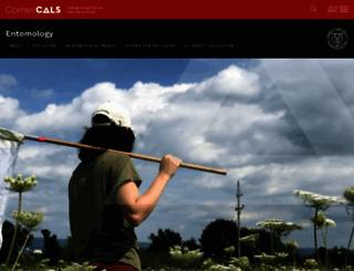 entomology.cornell.edu screenshot
