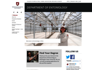 entomology.wsu.edu screenshot
