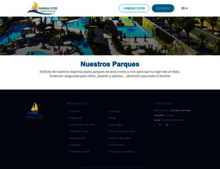 entradas.marinador.com screenshot