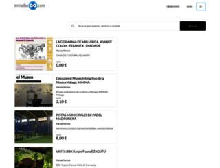 entradasgo.com screenshot