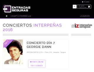 entradasseguras.com screenshot