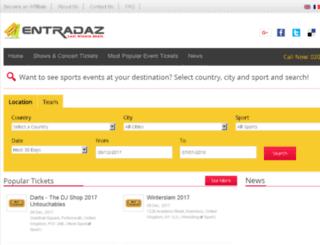 entradaz.com screenshot
