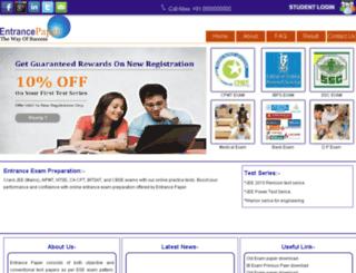 entrancepaper.com screenshot