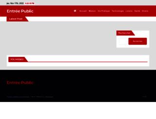 entreepublic.fr screenshot