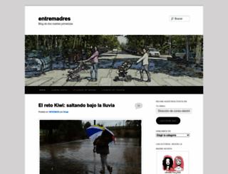 entremadres.wordpress.com screenshot