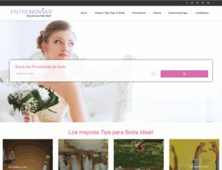 entrenovias.com screenshot