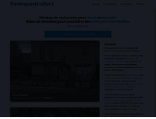entreparticuliers.com screenshot